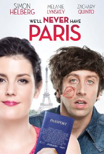 "Canciones y musica de la pelicula ""We'll Never Have Paris"" 2014"