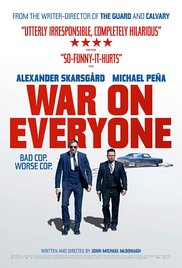 "Canciones y musica de la pelicula ""War on Everyone"" 2016"